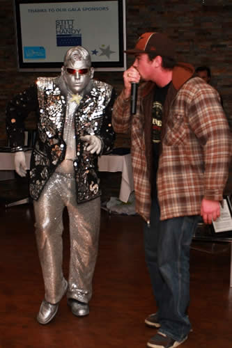 "SilverElvis and ""Human Beat Box"" Scott Jackson"