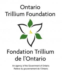 The logo for the Ontario Trillium Foundation.