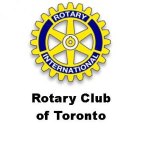 The logo for the Rotary Club of Toronto.