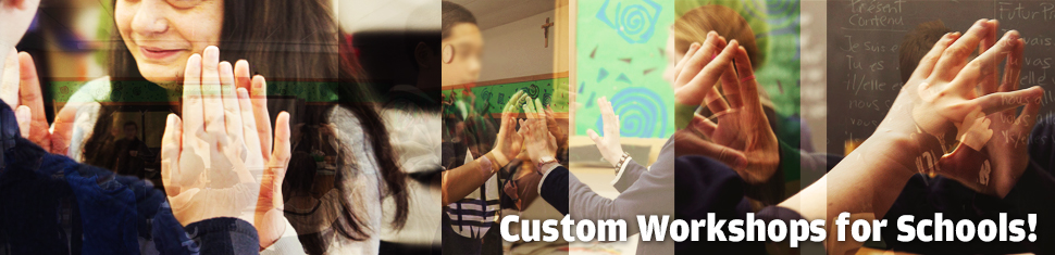 Custom Workshops for Your School!