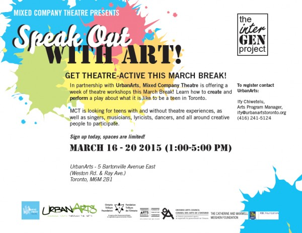 Calling all Teens: Speak Out with Art!