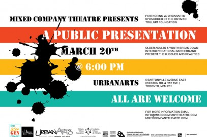 Speak Out With Art! Presentation March 20th