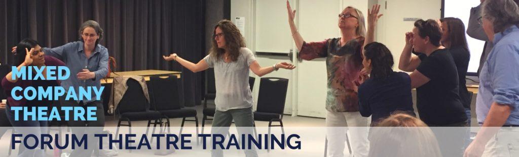 Mixed Company Theatre Forum Theatre Training